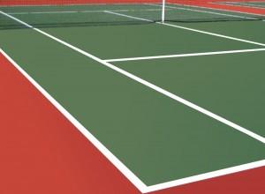 b2b akrilik zemin kaplama tenis kortu